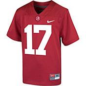 Nike Toddler Alabama Crimson Tide Crimson Replica Football Jersey