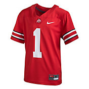 Nike Toddler Ohio State Buckeyes Scarlet Replica Football Jersey