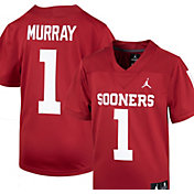 Nike Youth Kyle Murray Oklahoma Sooners #1 Crimson Replica Football Jersey