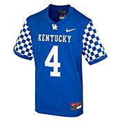 Nike Kids' Kentucky Wildcats Blue Replica Football Jersey