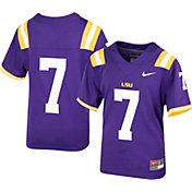 Nike Youth LSU Tigers Purple Replica Football Jersey