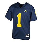 Nike Toddler Michigan Wolverines Maize Replica Football Jersey