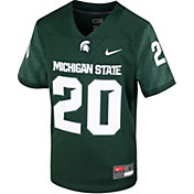 Nike Youth Michigan State Spartans Green Replica Football Jersey