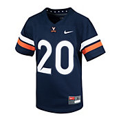 Nike Youth Virginia Cavaliers #20 Navy Replica Football Jersey