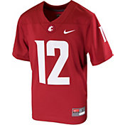 Nike Youth Washington State Cougars Crimson Replica Football Jersey