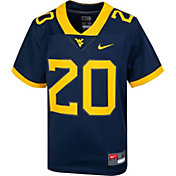Nike Youth West Virginia Mountaineers Blue Replica Football Jersey