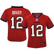 Nike Youth Tampa Bay Buccaneers Tom Brady #12 Red Game Jersey