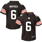 Nike Toddler Cleveland Browns Baker Mayfield #6 Brown Game Jersey