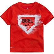 Nike Toddler Boys' BSBL Chalk Dri-FIT T-Shirt