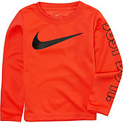 Nike Toddler Boys' Swoosh Just Do it Dri-FIT Thermal Shirt