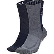 Nike Penn State Nittany Lions Multi Crew Socks 2 Pack