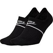 Nike SNKR No-Show Footie Socks – 2 Pack