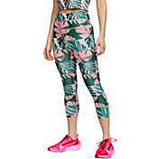 Nike Women's Boxed Botanical Fast Crop Leggings