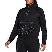 Nike Women's Sportswear Icon Clash 1/4-Zip Fleece Pullover