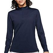 Nike Women's Dri-FIT UV Victory Long Sleeve ½-Zip Golf Pullover