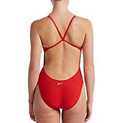 Nike Women's Swim Guard Cut Out One-Piece Swimsuit