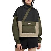 Nike Women's Sportswear Woven Anorak Jacket