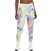 Nike Women's Dri-FIT Get Fit Tie Dye 7/8 Training Pants