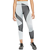 Nike Women's Sculpt Icon Clash Seamless 7/8 Training Tights
