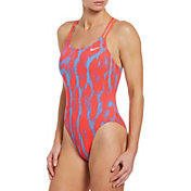 Nike Women's HydraStrong Spiderback One Piece Swimsuit