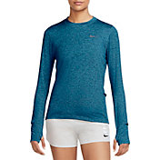 Nike Women's Element Crew Long Sleeve Running Shirt