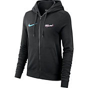 Nike Women's Miami Heat City Edition Full-Zip Black Hoodie