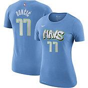 Nike Women's Dallas Mavericks Luka Doncic #77 Dri-FIT Blue City Edition T-Shirt
