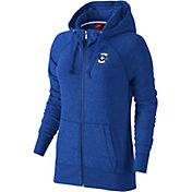 Nike Women's Creighton Bluejays Blue Full-Zip Hoodie