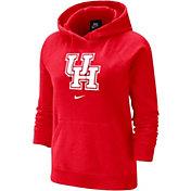 Nike Women's Houston Cougars Red Fleece Pullover Hoodie
