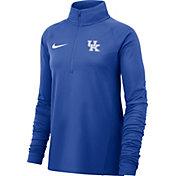 Nike Women's Kentucky Wildcats Blue Half-Zip Pullover Shirt