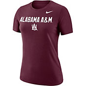 Nike Women's Alabama A&M Bulldogs Maroon Dri-FIT Cotton Performance T-Shirt
