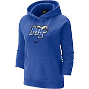 Nike Women's Middle Tennessee State Blue Raiders Blue Fleece Pullover Hoodie