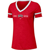 Nike Women's UNLV Rebels Scarlet V-Neck T-Shirt