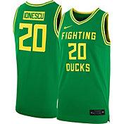 Nike Women's Sabrina Ionescu Oregon Ducks #20 Green Replica Basketball Jersey