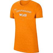 Nike Women's Tennessee Volunteers Tennessee Orange Marled Crew T-Shirt