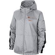 Nike Women's Texas Longhorns Grey Full-Zip Repel Parka
