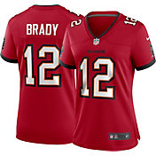 Nike Women's Tampa Bay Buccaneers Tom Brady #12 Home Red Game Jersey