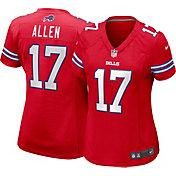 Nike Women's Buffalo Bills Josh Allen #17 Color Rush Red Game Jersey
