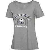 Nike Women's Dallas Cowboys 60th Anniversary Dark Grey Heather T-Shirt