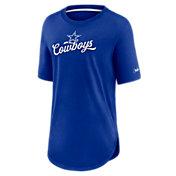 Nike Women's Dallas Cowboys Historic Royal T-Shirt