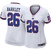 Nike Women's New York Giants Saquon Barkley #26 Color Rush White Game Jersey