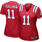 Nike Women's New England Patriots Julian Edelman #11 Color Rush Red Game Jersey