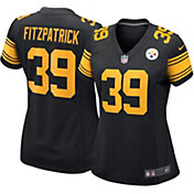 Nike Women's Pittsburgh Steelers Minkah Fitzpatrick #39 Color Rush Black Game Jersey