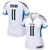 Nike Women's Tennessee Titans A.J Brown #11 White Game Jersey