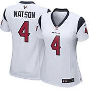 Nike Women's Away Game Jersey Houston Texans Deshaun Watson #4