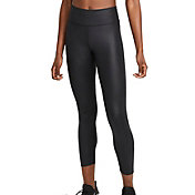 Nike Women's One 7/8 Faux Leather Tights
