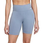 "Nike Women's One Mid Rise 7"" Shorts"