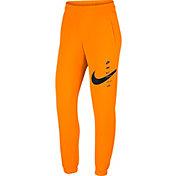 Nike Women's Sportswear Neon Swoosh Fleece Pants