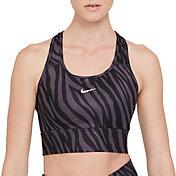 Nike Women's Dri-FIT Swoosh Icon Clash Padded Pro Longline Sports Bra