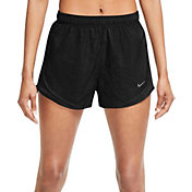 Nike Women's Plus Size Tempo Heather Core Running Shorts